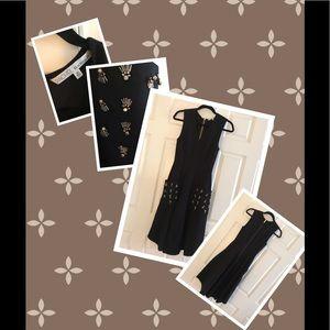 RACHEL Rachel Roy Dresses - Rachel Roy Sleeveless embellishment Pocket dress